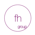 A great web designer: fh group, Erie, PA logo