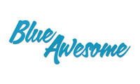 A great web designer: Blue Awesome, Indianapolis, IN logo