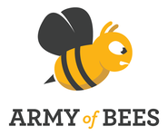 A great web designer: Army of Bees, Atlanta, GA logo
