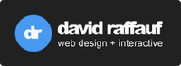 A great web designer: David Raffauf Web Design, Portland, OR logo