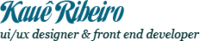 A great web designer: Kaue Ribeiro, Boca Raton, FL logo