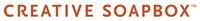 A great web designer: Creative Soapbox, Boise, ID logo