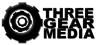 A great web designer: Three Gear Media, McAllen, TX logo