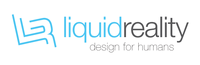 A great web designer: Liquid Reality, Toronto, Canada logo
