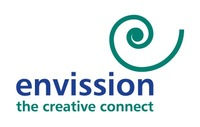 A great web designer: Envission Communication, Chennai, India logo