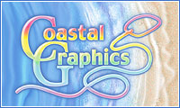 A great web designer: Coastal Graphics Inc., Ocean City, MD logo