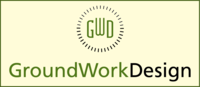 A great web designer: GroundWork Design, Richmond, VA logo