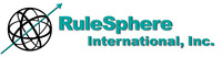 A great web designer: RuleSphere International, Boston, MA logo