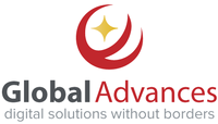 A great web designer: Global Advances, Beijing, China logo