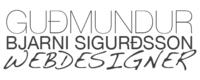 A great web designer: gummisig freelance web designer, Reykjavik, Iceland logo