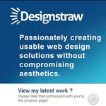 A great web designer: www.designstraw.com, Los Angeles, CA logo