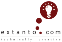 A great web designer: Extanto, Portland, OR logo