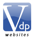 A great web designer: VDP Websites, Shepparton, Australia logo