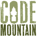 A great web designer: codemountain, Montreal, Canada logo