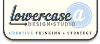 A great web designer: Lowercase a: Design Studio, San Antonio, TX logo