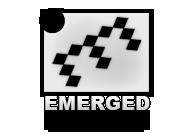 A great web designer: Emerged Design, Atlanta, GA logo