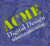 A great web designer: Acme Digital Design, Los Angeles, CA logo