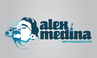 A great web designer: Alex Medina, New York, NY logo