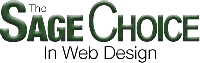 A great web designer: The Sage Choice in Web Design, Minneapolis, MN logo