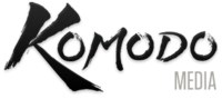 A great web designer: Komodo media, Helena, MT logo