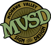 A great web designer: MohawkValley Sign and Design, New York, NY logo