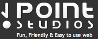 A great web designer: Point studios, Riyadh, Saudi Arabia logo