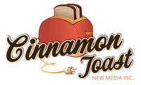 A great web designer: Cinnamon Toast New Media Inc., Ottawa, Canada logo