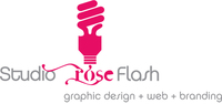 A great web designer: Studio Rose Flash, Montreal, Canada logo