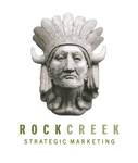 A great web designer: Rock Creek Strategic Marketing, Washington DC, DC logo