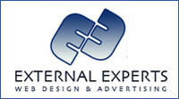 A great web designer: External Experts, Buffalo, NY logo