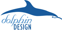 A great web designer: Dolphin Design, Seattle, WA logo