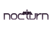 A great web designer: nocturn, Bucharest, Romania logo