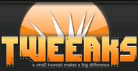 A great web designer: Tweeaks Design, Boston, MA logo