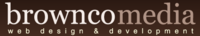 A great web designer: BrownCo Media, Dallas, TX logo