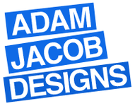 A great web designer: Adam Jacob Designs, Merced, CA logo
