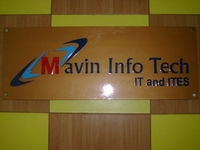 A great web designer: Mavin Infotech, Hyderabad, India logo