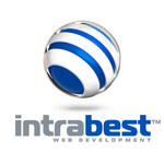A great web designer: intrabest.com, Houston, TX logo