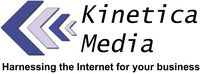 A great web designer: Kinetica Media, Toledo, OH logo