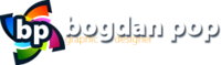A great web designer: Bogdan Pop, Cluj, Romania logo