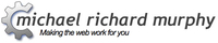 A great web designer: Michael Richard Murphy, Rochester, NY logo