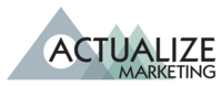 A great web designer: Actualize Marketing, Phoenix, AZ logo
