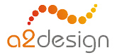 A great web designer: A2 Design, Omsk, Russia logo