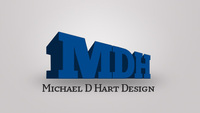A great web designer: Michael D Hart Design, Chicago, IL logo
