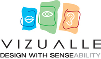 A great web designer: Vizualle, Inc., Washington DC, DC logo