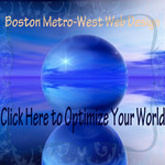 A great web designer: Boston Metro-West Web Design, Boston, MA logo