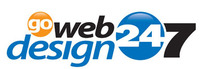 A great web designer: Go Web Design 247, The Woodlands, TX logo