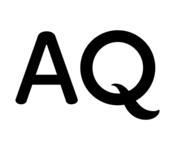 A great web designer: AQ, Tokyo, Japan logo