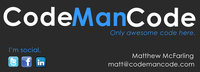 A great web designer: CodeManCode, Burlington, NC