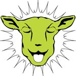 A great web designer: Laughing Sheep Productions, Sacramento, CA logo