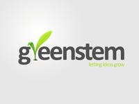 A great web designer: Greenstem, Edmonton, Canada logo